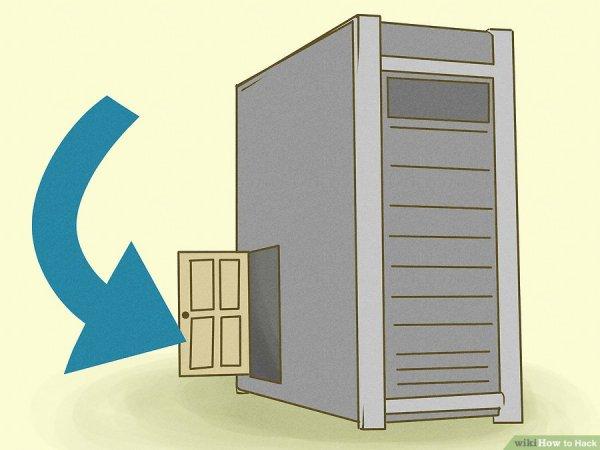 یک درب پشتی بسازید
