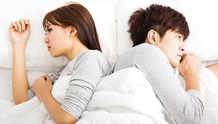 تست رابطه زناشویی